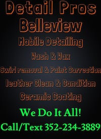 Car Detailing Paint Correction and Ceramic Coatings Belleview