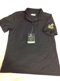 Black gfl ontour polo shirt brand new for women's size (m) regular price was over $50 + tax asking $20 Hamilton, L8V 4K6