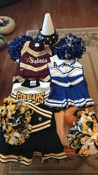 Authentic Cheerleader Costumes variety of sizes Gainesville, 20155