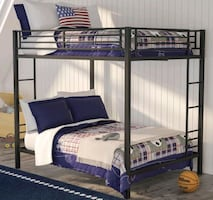 Top & bottom Full size bunk bed Frame