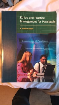 Ethics for Paralegals book