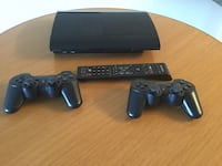 PS3 with 2 controllers and remote Edmonton, T5H 0K2