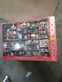 Christmas ornaments eurographics puzzle 1000 piece Riverside, 92509