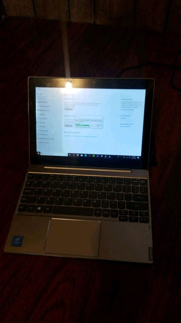 Used Lenovo Tablet With Detachable Keyboard For Sale In