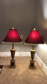 Vintage Brass Lamps Hickory, 28601