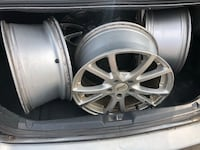 Rims 4 sale only 0ne has tire the rest of the 3 don't  hit me up New York, 10472