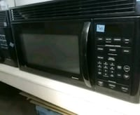 Black GE range top microwave Tampa, 33604