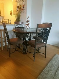 brown wooden table with chairs Queens, 11101