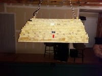 wine Corks chandelier for kitchen or pool table O'Fallon, 63368