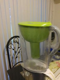 green and clear plastic pitcher Athens, 30605