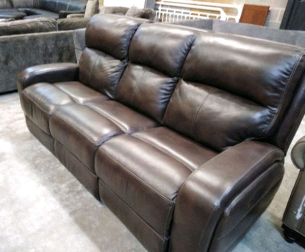 Fantastic Baylor Italian Leather Power Reclining Sofa Creativecarmelina Interior Chair Design Creativecarmelinacom
