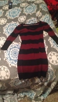 red and black stripe sweater Medicine Hat, T1A 7Y2