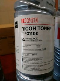 Ricoh toner.    Type.   3110D Fort Worth, 76103