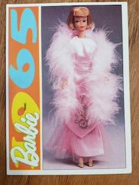 1965 Barbie Trading Card