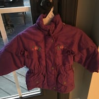 Girls size 2T purple coat  Centreville, 20120