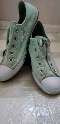teal-and-white Converse All-Star low-top shoes Tracy, 95376