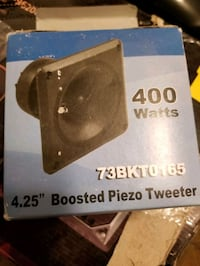 Brand new Boosted 4.25 piezo tweeters  Mississauga