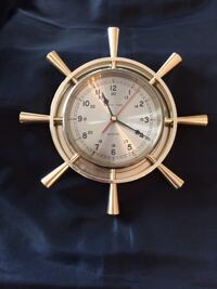 Solid Brass Ships Time Clock Calgary, T3H 3C9