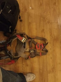 Full body harness with tool belt/back support Edmonton, T6H 1L2