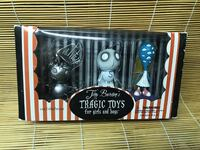 Tim Burton's Tragic Toys for Girls and Boys Set Dark Horse Comics  Brand new in the box!  VIEW MY OTHER ADS!!!