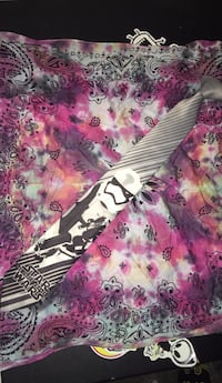 white, pink, and black floral textile Springfield, 62711