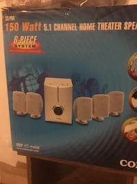 5.1 Channel Home Theater Speakers