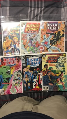 Justice League Comics for sale  Dowell, MD