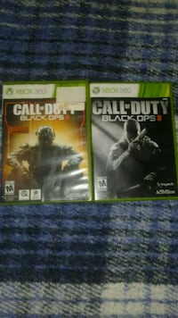 Call of Duty: Black ops 2 & 3 (Xbox 360)