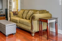Three-seater couch and chaise lounge sofa Vaughan, L4J 5N9