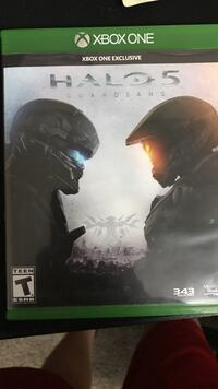 Xbox One Halo 5 Guardians game case