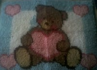 Handmade latch look rug/wall hanging Harpers Ferry, 25425