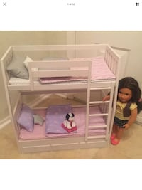 Battat Our Generation Dream Bunkbed with 18 inch doll and pet Safety Harbor, 34695