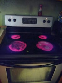 black and white induction range oven McAllen, 78504