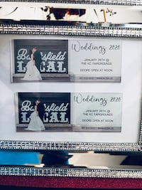 Raffling off tickets to bridal show be our special guest