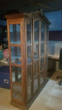 Old Fashion sturdy China Cabinet  Bristow