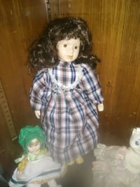doll in blue and white plaid dress West Warwick, 02893