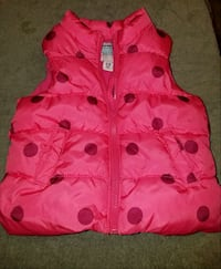 Old Navy Size 12-18 months girls puffy vest TEMPLE TERR, 33617