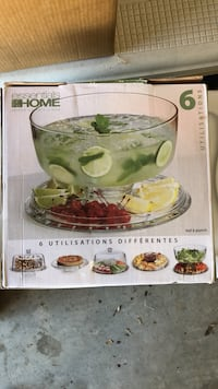 Multi functional serving dish, New in box. Charlotte, 28278