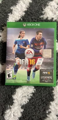 Xbox 360 fifa 16 game case New York, 10027