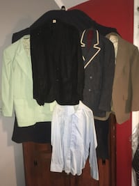4 Vintage Jackets ( all ) Silver Spring