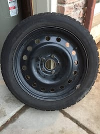 Winter tires and rims for Honda Accord.  Only used for one season.  Mint condition Pickering