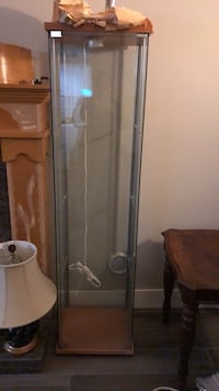 Class display cabinet with light Port Coquitlam, V3C 6B2