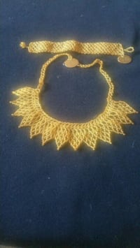 Unique brand new hand-made jewellery  gold nitted  Toronto, M6A 3A8