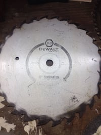 "Dewalt 10"" combination  saw blade Victoria, V9A 2E6"