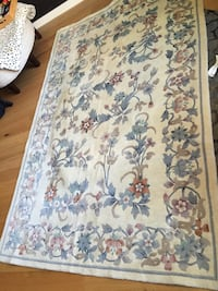 Oriental Rug Wool Hand knotted PRISTINE condition Hoboken
