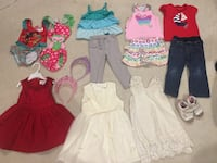 Toddler Girl 2T Clothes (15 pieces) Vienna, 22180