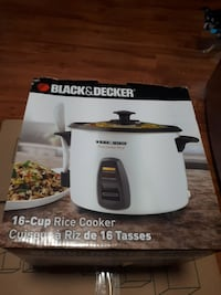 Black & Decker rice cooker box