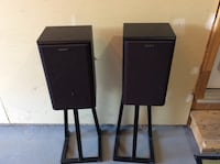 Two black wooden side tables Calgary, T2Y 3W1