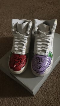 High top customized forces 30 mi
