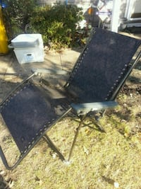 We have 4 gravity chairs great condition only 25ea Glen Burnie